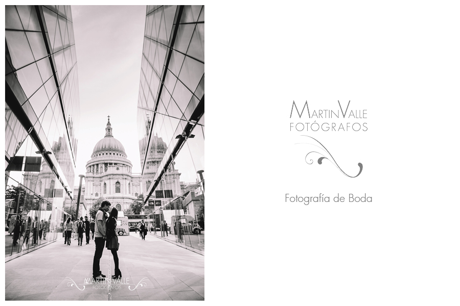 Engagement Session in Saint Paul Cathedral in London