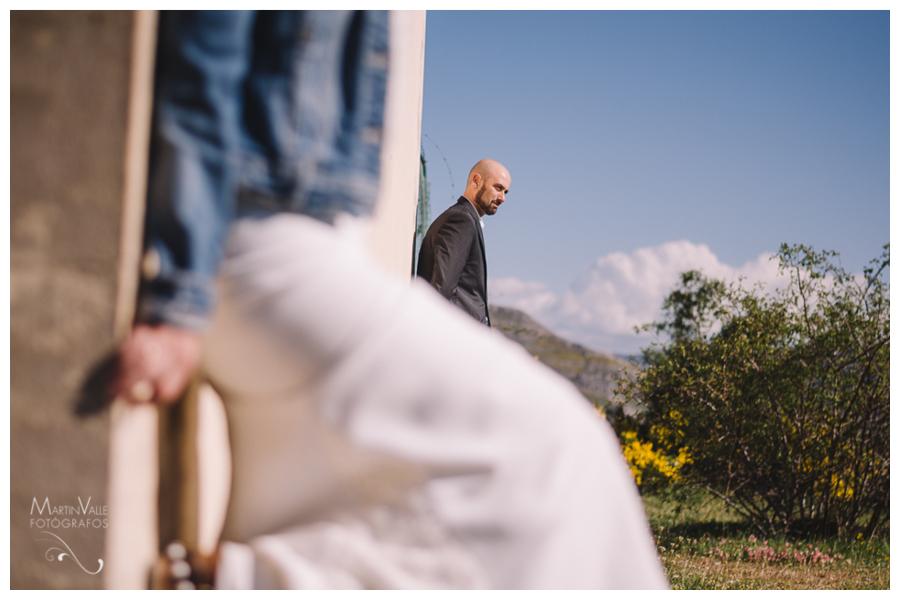 Postboda en la montaña en Babia, León