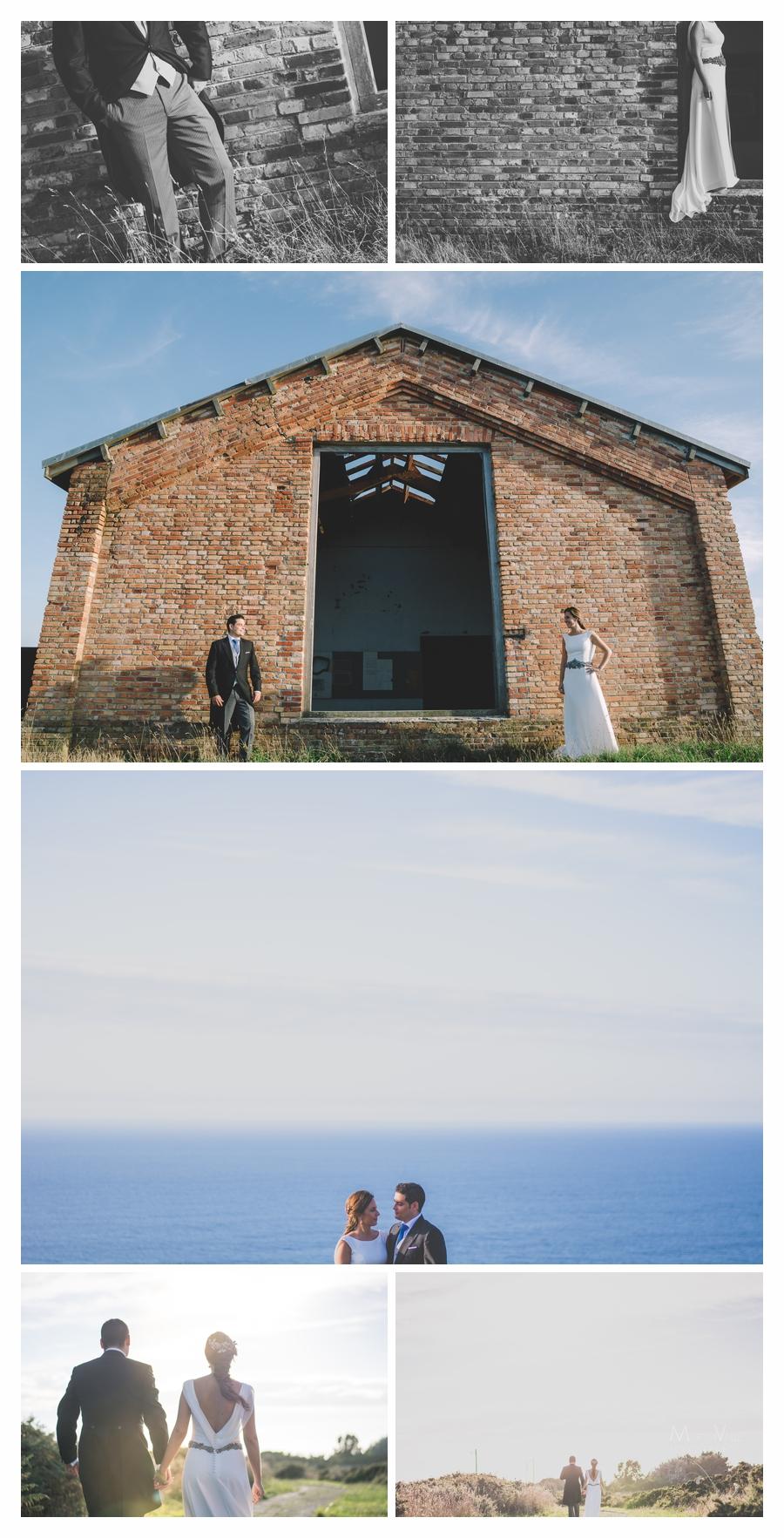 postboda en la costa asturiana. Postboda industrial