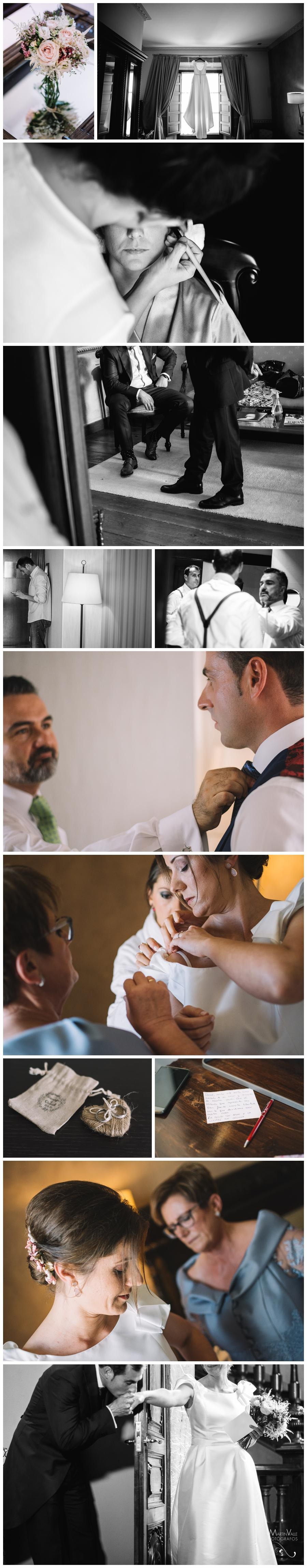 Preparativos de boda en el Palacio de Ferrera de Avilés