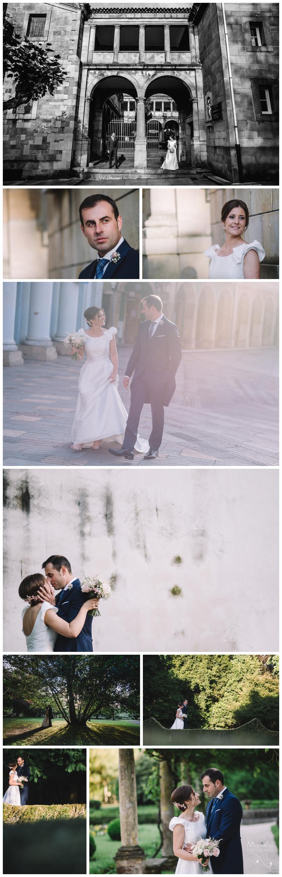 Sesión en pareja en una boda en Avilés