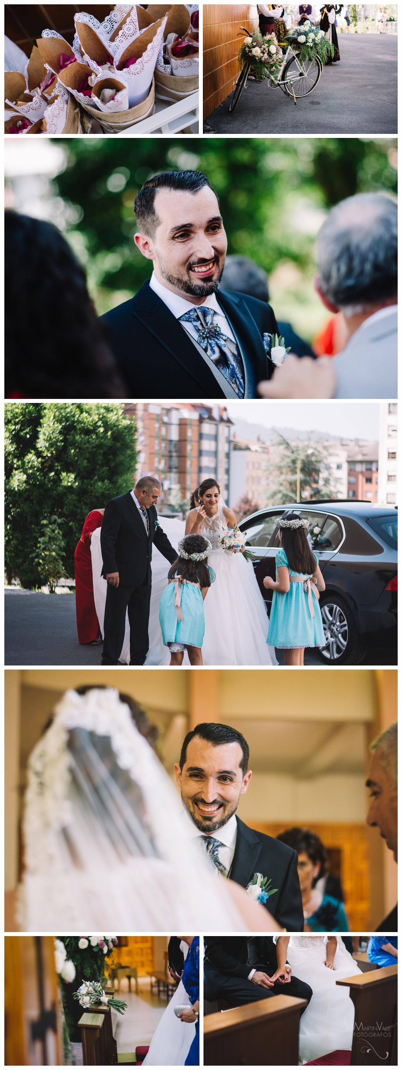 Ceremonia religiosa en Oviedo
