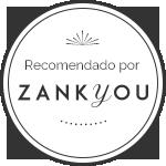 Empresa recomendada por Zankyou Bodas