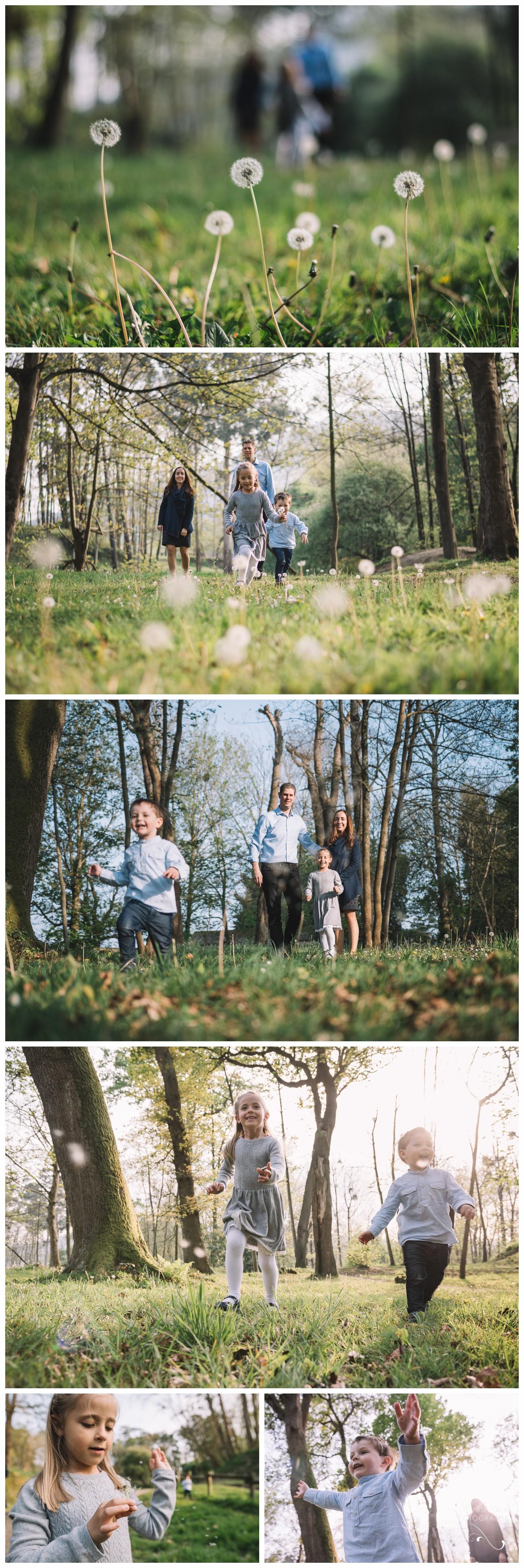 Sesión en familia en Asturias
