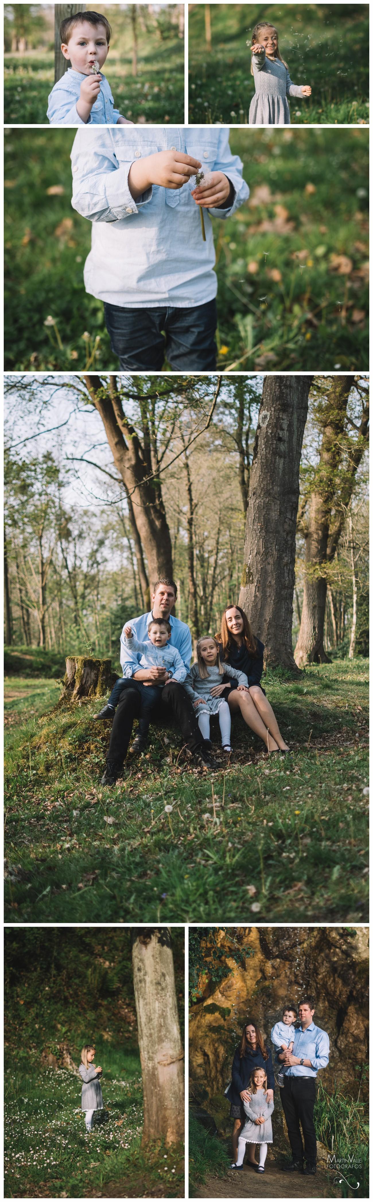 Reportaje en familia en Asturias