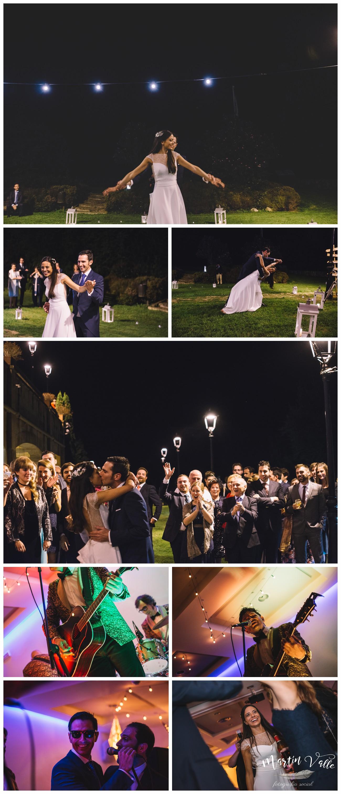 Concierto de los Testigos en una boda en el Parador de Cangas de Onís