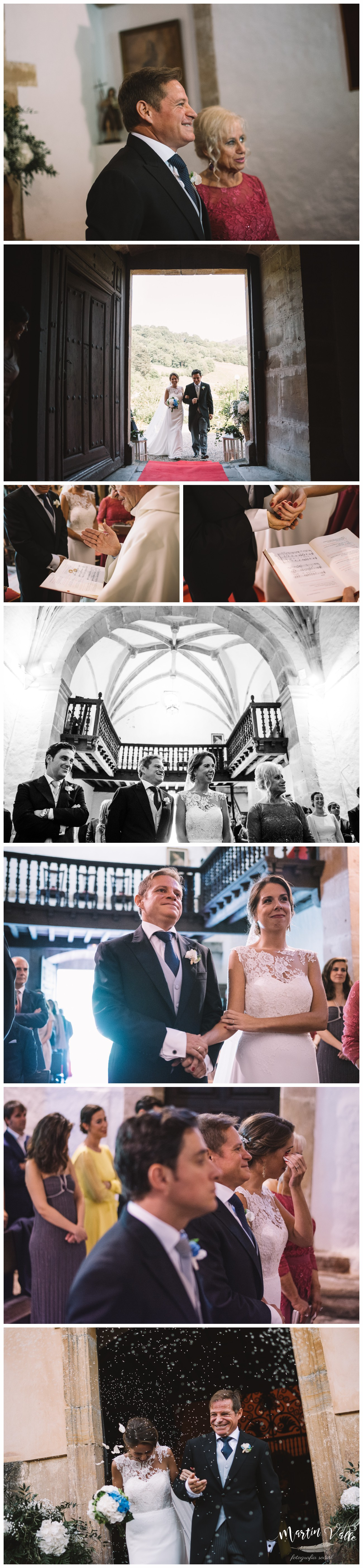 CEREMONIA RELIGIOSA EN EL PALACIO DEL MARQUES DE CASA ESTRADA