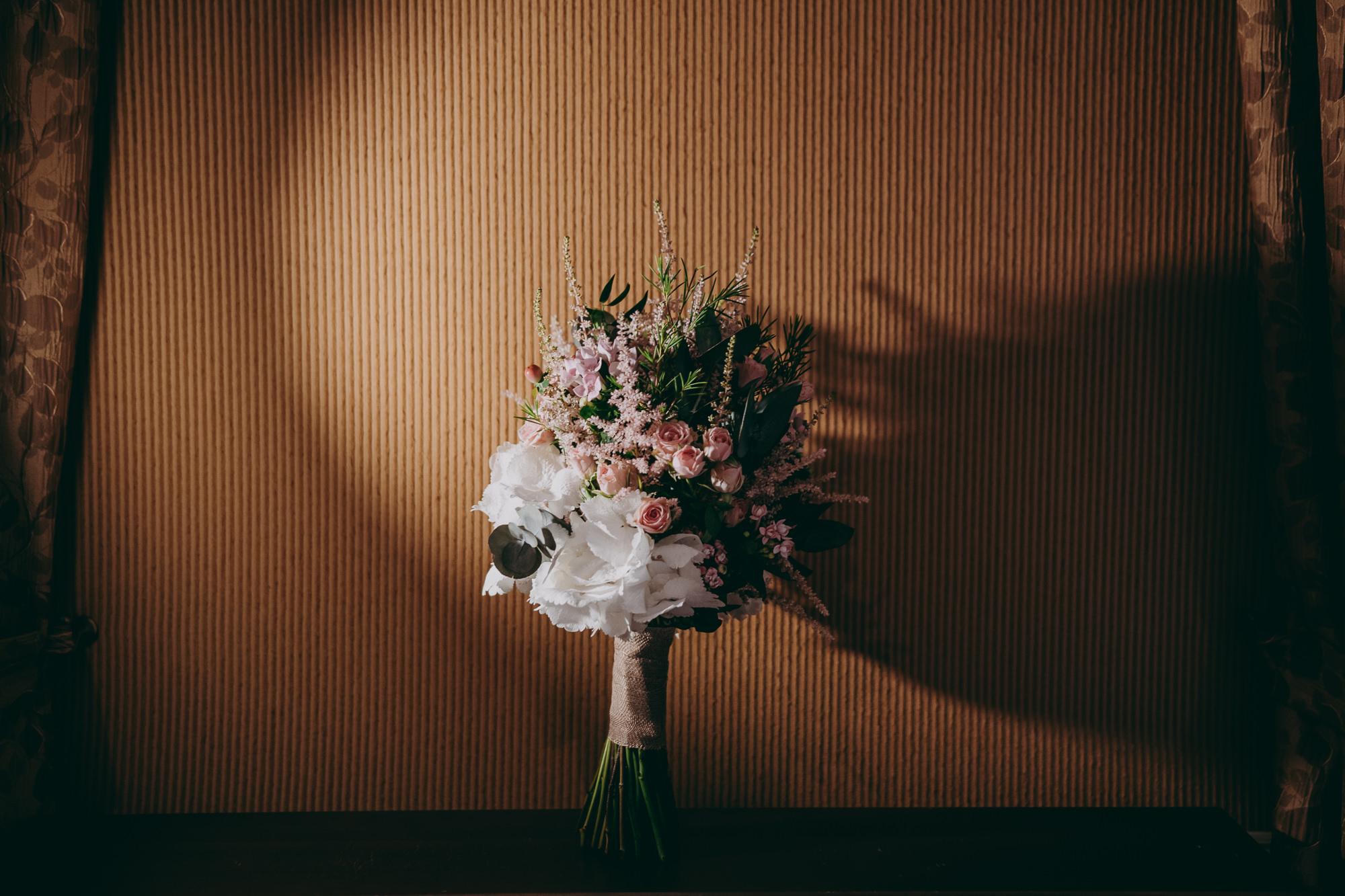 flores boda Asturias