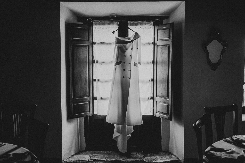 Vestido de novia de Alicia Rueda Atelier