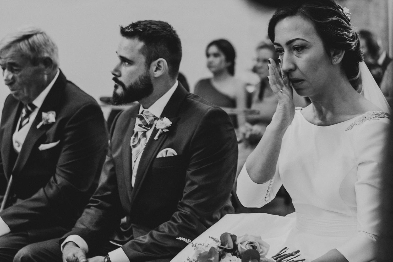 fotografía de bodas emocional