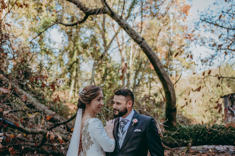 boda en el bosque de la zoreda
