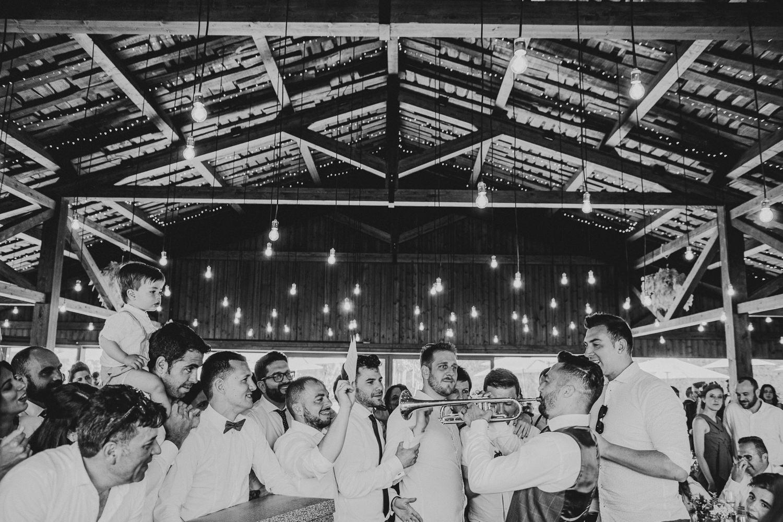 boda en el restaurante la tabla