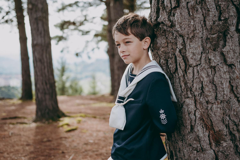 Reportaje de comunión en exterior en Asturias