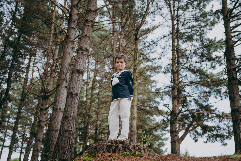 comunión en exterior en el bosque