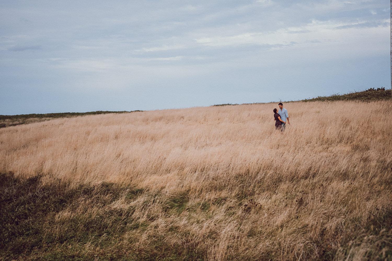 Sesión preboda en tierra de campos