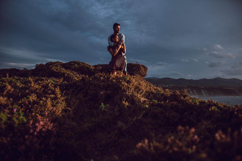 Preboda en Cabo Vidio